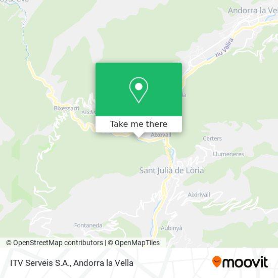 ITV Serveis S.A. map