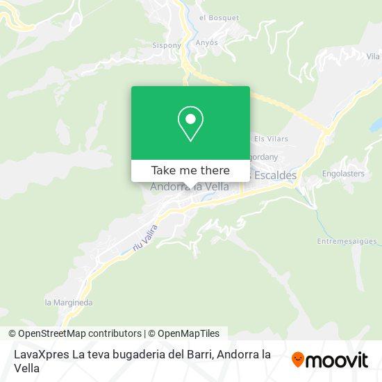 LavaXpres La teva bugaderia del Barri map