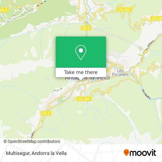 Multisegur map