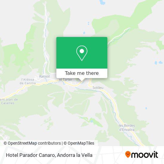 Hotel Parador Canaro map