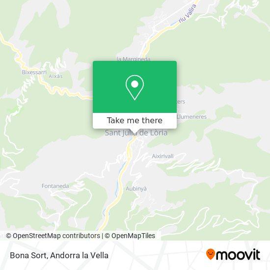 Bona Sort map
