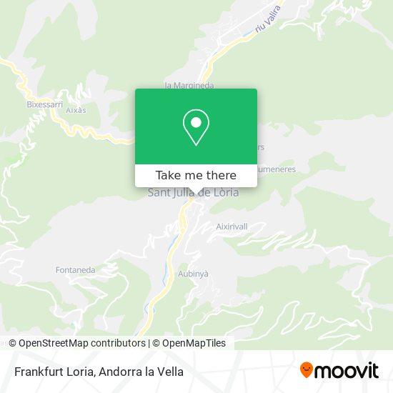 Frankfurt Loria map