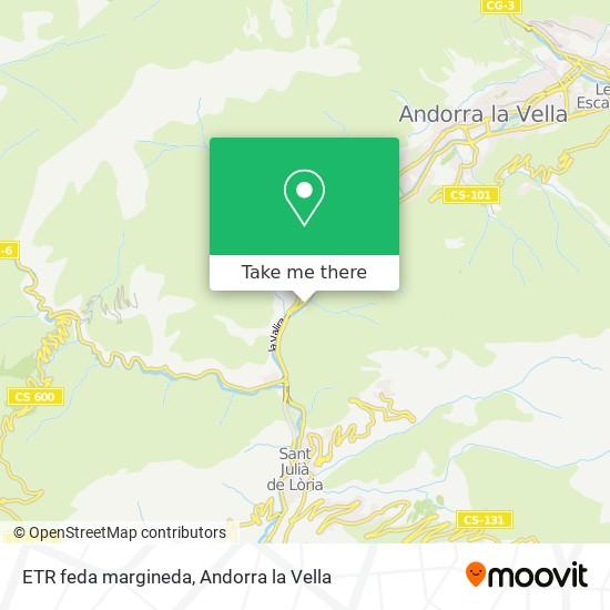 ETR feda margineda map