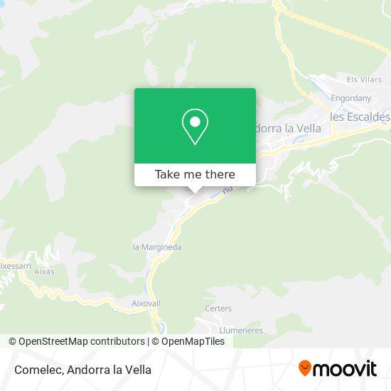 Comelec map