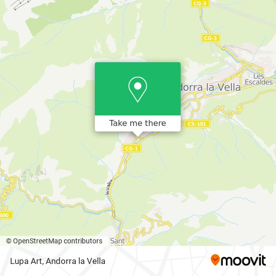 Lupa Art map