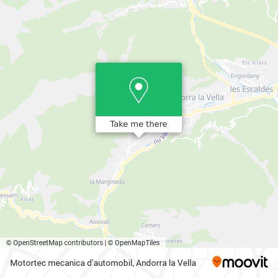 Motortec mecanica d'automobil map