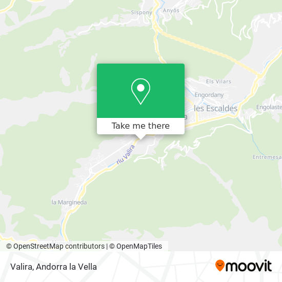 Valira map