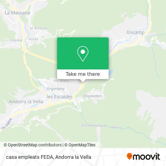 casa empleats FEDA map