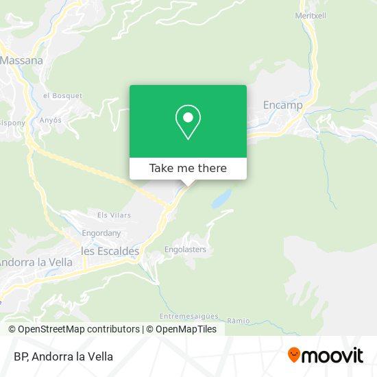 BP map