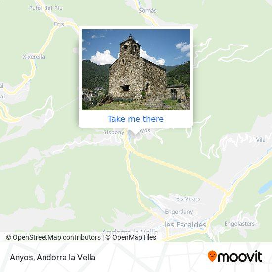 Anyos map