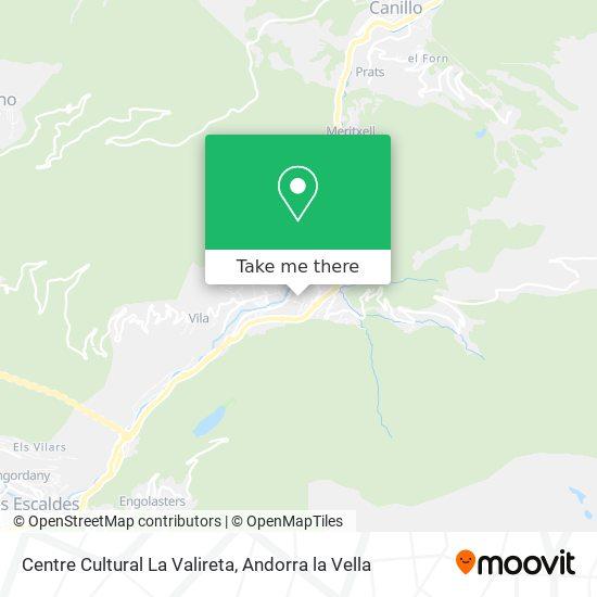 Centre Cultural La Valireta map