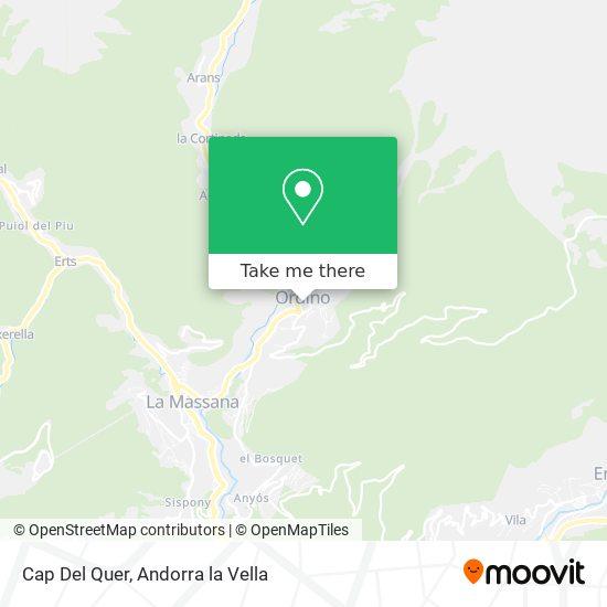 Cap Del Quer map