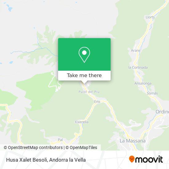 Husa Xalet Besoli map