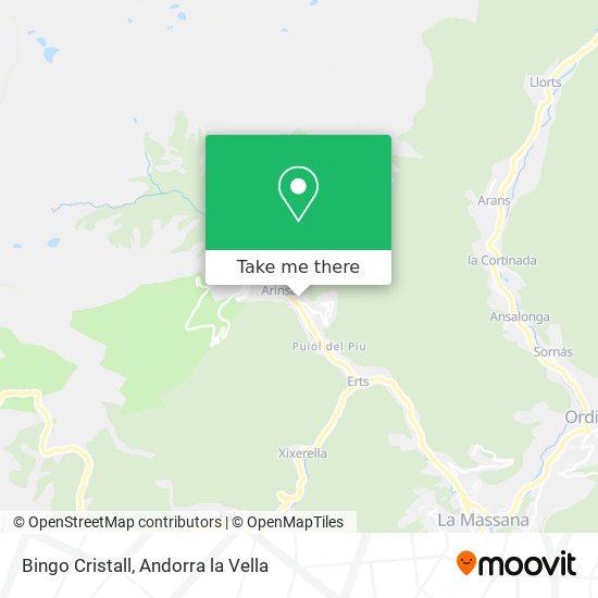 Bingo Cristall map