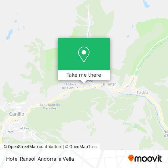 Hotel Ransol map