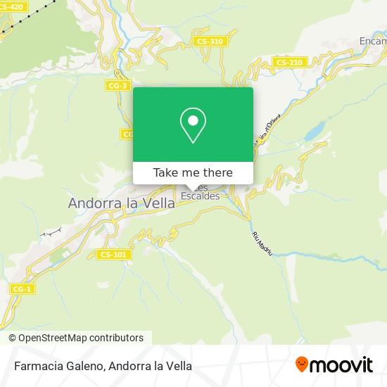 Farmacia Galeno map