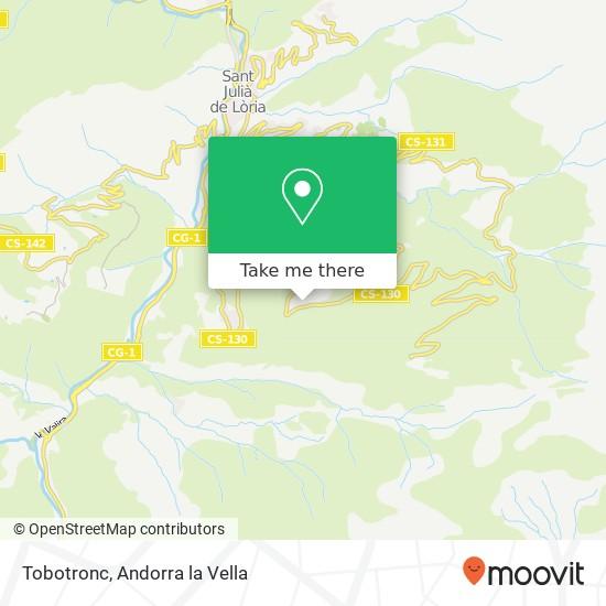 Tobotronc map