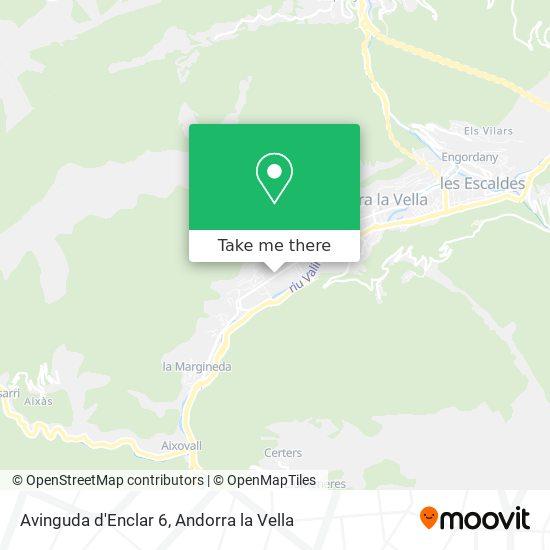 Avinguda d'Enclar 6 map