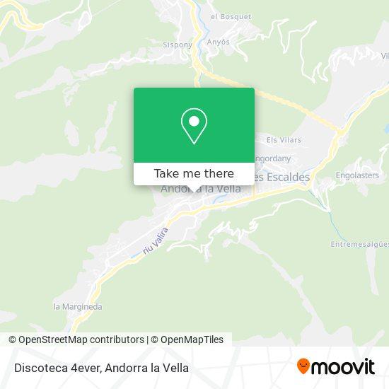 Discoteca 4ever map