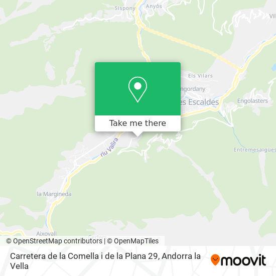 Carretera de la Comella i de la Plana 29 map