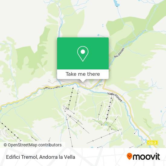 Edifici Tremol map