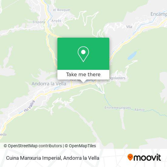 Cuina Manxuria Imperial map