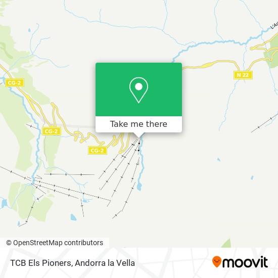 TCB Els Pioners map