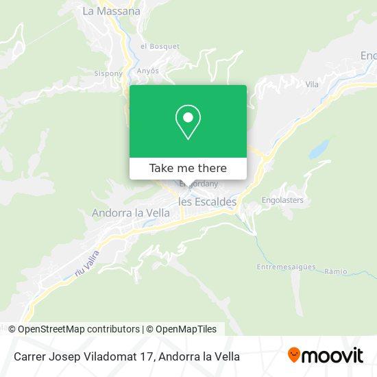 Carrer Josep Viladomat 17 map