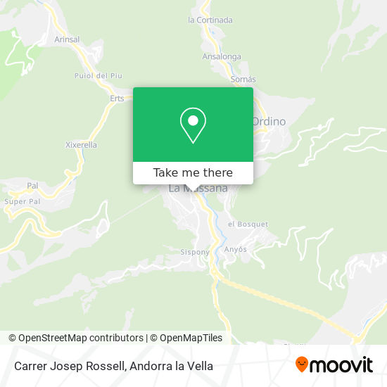 Carrer Josep Rossell map