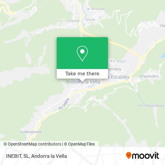 INEBIT, SL map