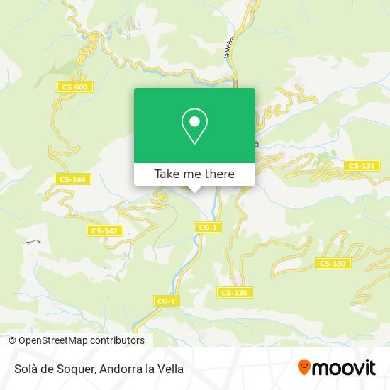 Solà de Soquer map