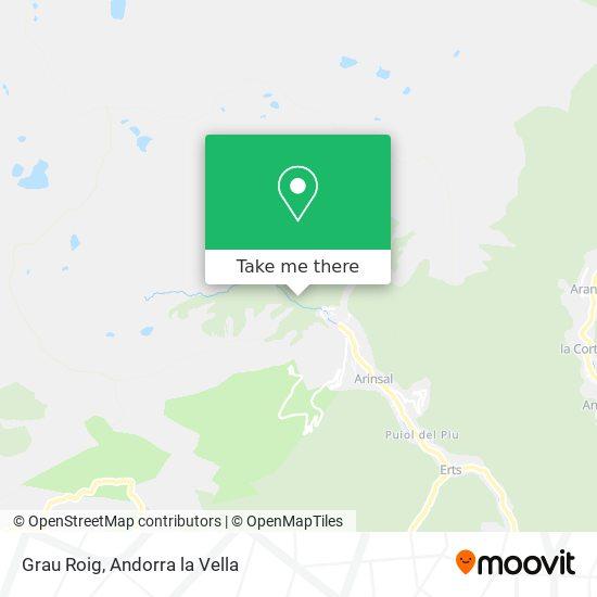 Grau Roig map