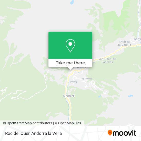 Roc del Quer map