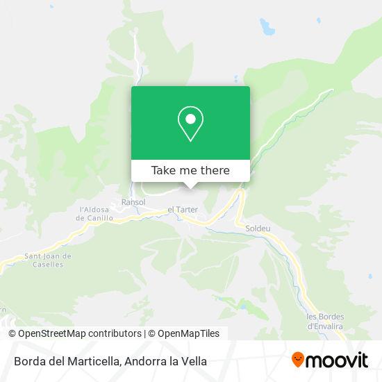 Borda del Marticella map