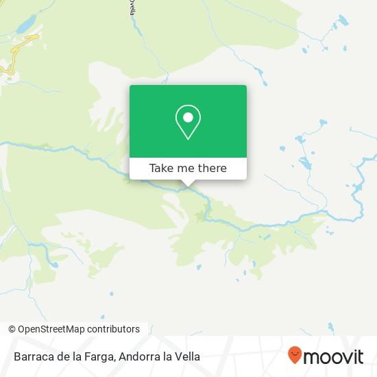 Barraca de la Farga map