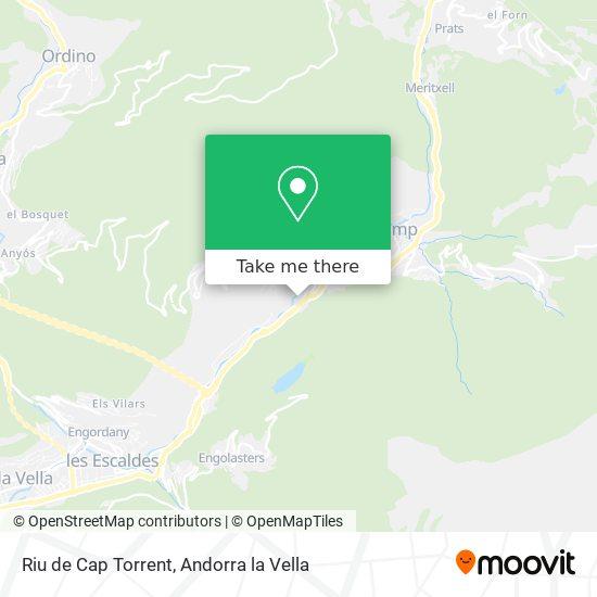 Riu de Cap Torrent map