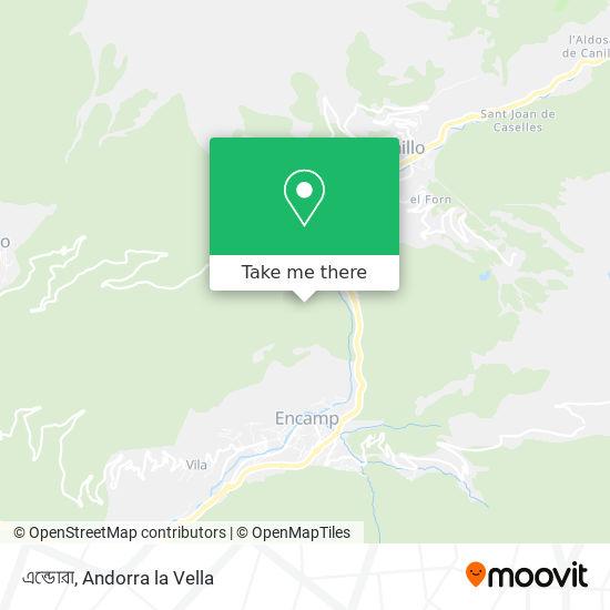 এন্ডোরা map