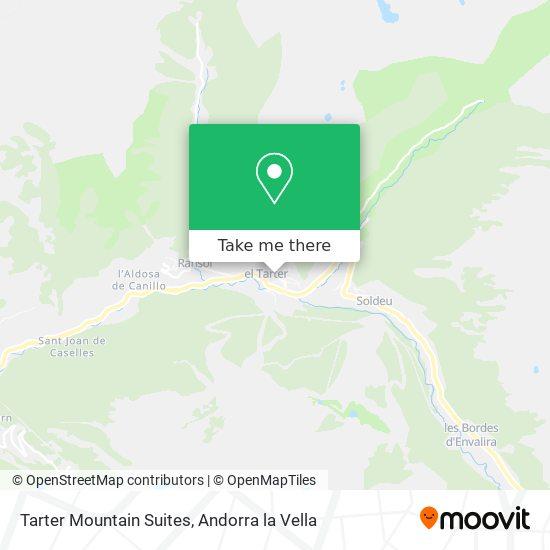 Tarter Mountain Suites map