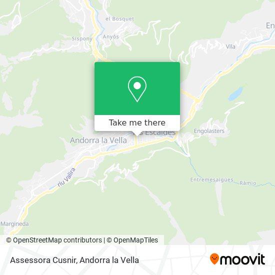 Assessora Cusnir map