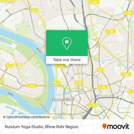 How To Get To Rundum Yoga Studio In Dusseldorf By Bus Train Subway Light Rail Or S Bahn Moovit