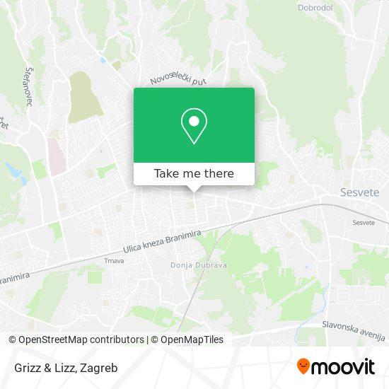 Grizz & Lizz map