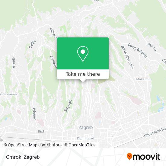 Cmrok map