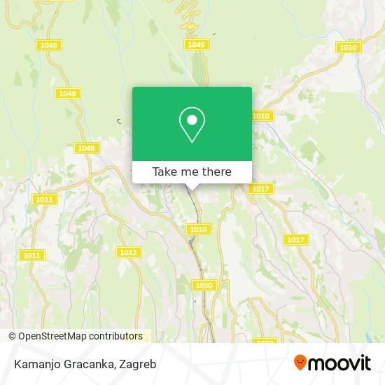 Kamanjo Gracanka map