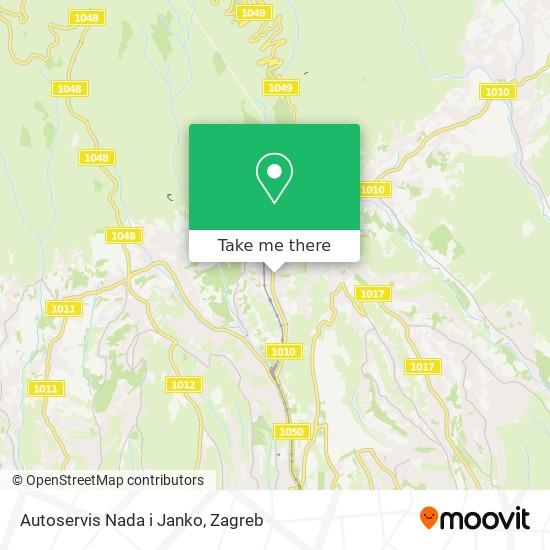Autoservis Nada i Janko map