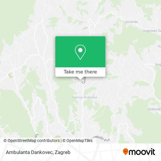 Ambulanta Dankovec map