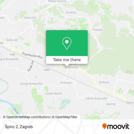 Špiro 2 map