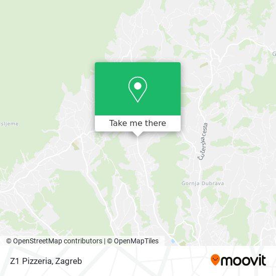 Z1 Pizzeria map