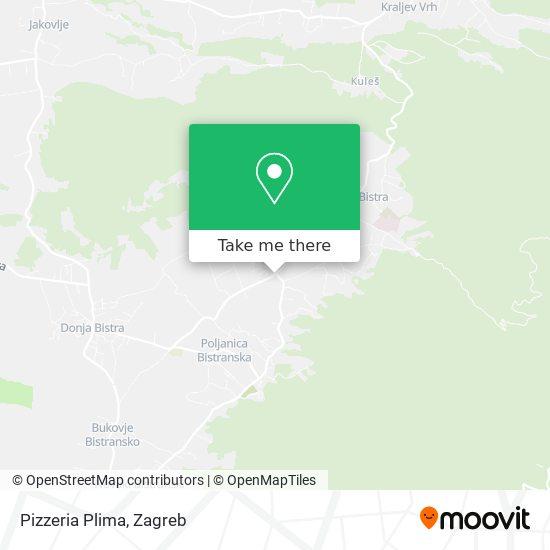 Pizzeria Plima map