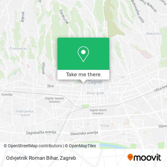 Odvjetnik Roman Bihar map