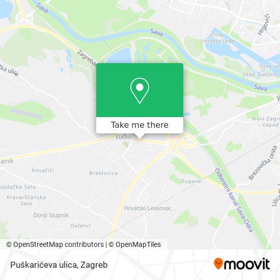 Puškarićeva ulica map